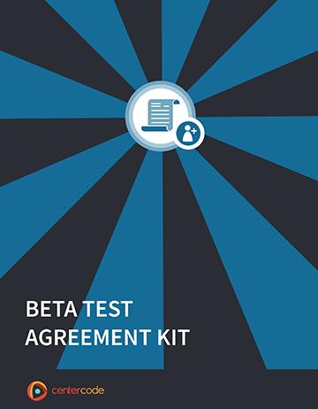 Cover Image: Beta Test Agreement Kit