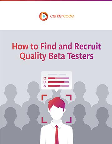 Cover Image: Beta Tester Recruitment Kit