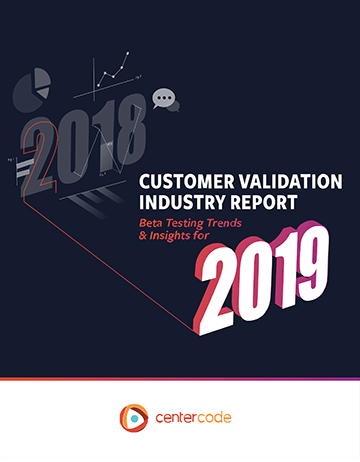 Cover Image: Customer Validation Industry Report 2019