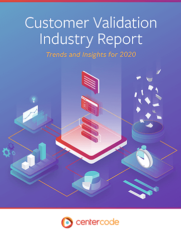 Cover Image: Customer Validation Industry Report 2020
