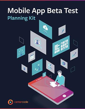 Cover Image: Mobile App Beta Test Planning Kit