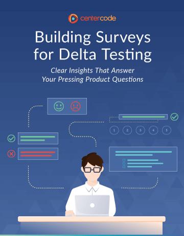 Cover Image: Building Surveys for Delta Testing