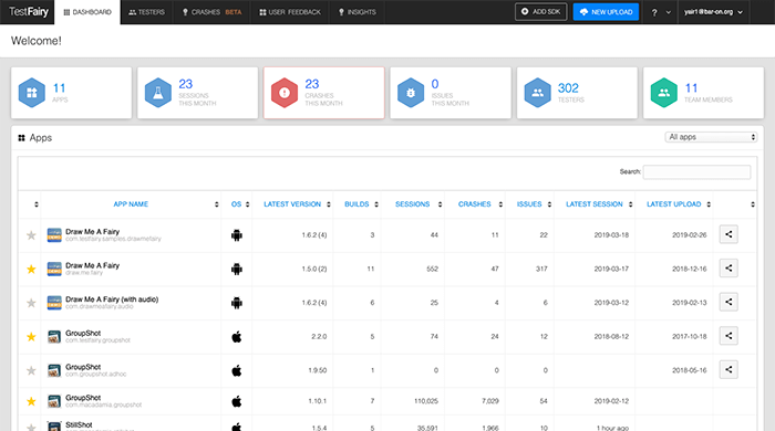 Cover Image: Mobile Testing & Analytics with TestFairy