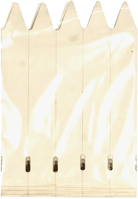 Stecketiketten 12 x 1,7 cm 40 Stück