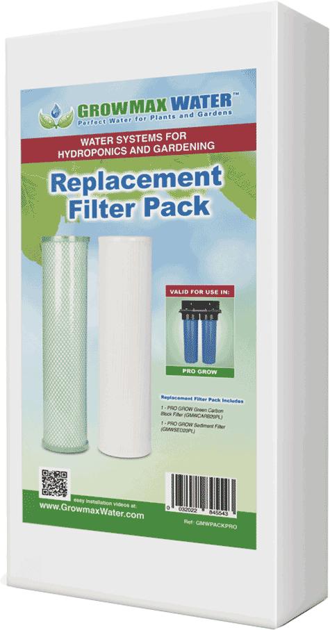 GrowMax Water Ersatzfilter Paket Pro Grow