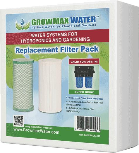 GrowMax Water Ersatzfilter Paket Super Grow