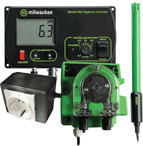 Milwaukee MC122 pH Monitor
