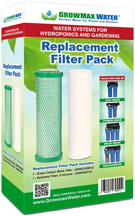 GrowMax Water Ersatzfilter Paket 10