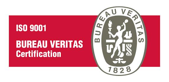 ISO 9001:2015 for Europe logo