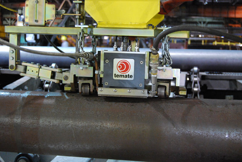 TEMATE TG-IL, the EMAT solution designed for measuring thickness of metallic materials in action