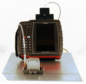 Weld inspection instrument for on site testings with Innerspec POWERBOX H