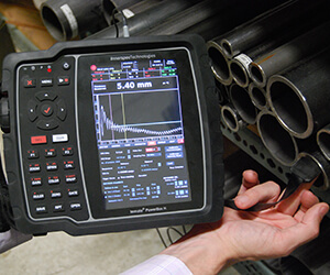 EMAT Technology fundamentals and Practical Training with portable instrumentation on thickness measurement applications using EMAT and DCUT transducers.