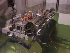 Full immersion inspection system designed for inspection of ferrous & non-ferrous metal samples