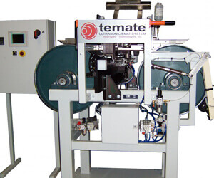 TEMATE ST-LA, designed for laminated metallic strip inspection