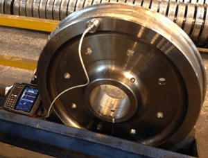 SPMRail Project: Portable Residual Stress Measurement of Rail Wheels