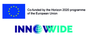 European Union and Innowide logos