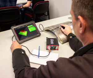 Training on the Eddy Current Array portable instrument called BRIO