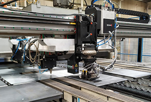 OPTEMATE, a laser camera system integrated within the tailor welded blanks inspection system