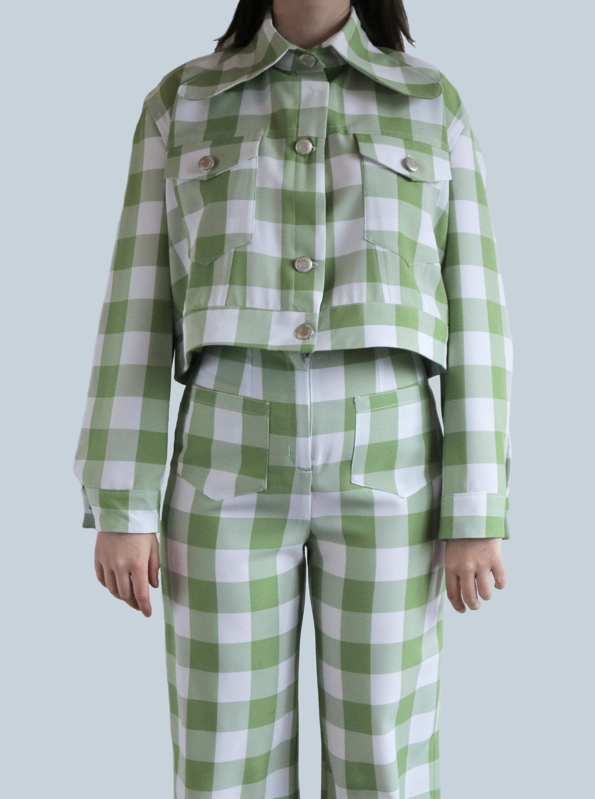 Gingham Canyon Shacket