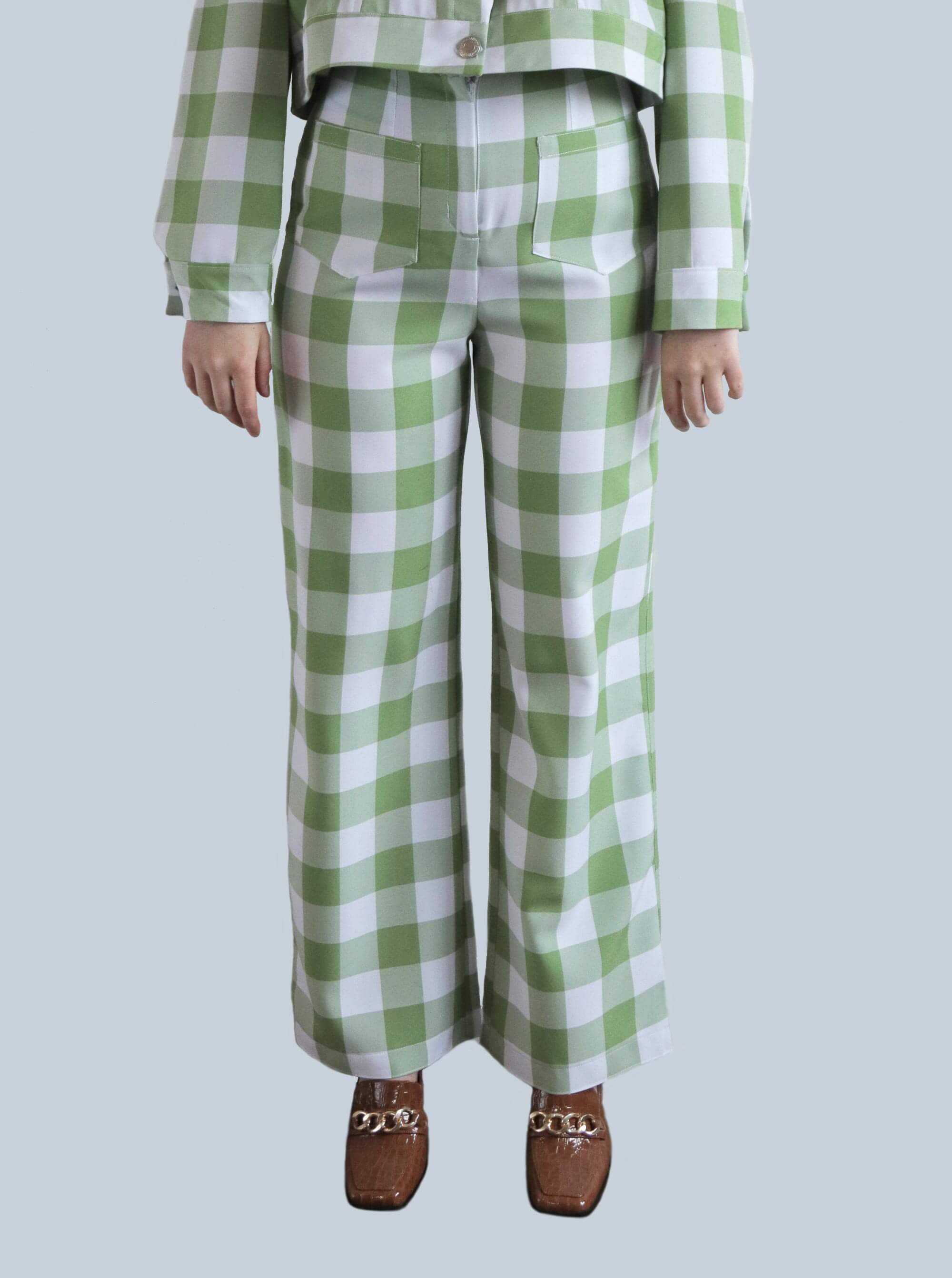 Gingham Jackie Trousers