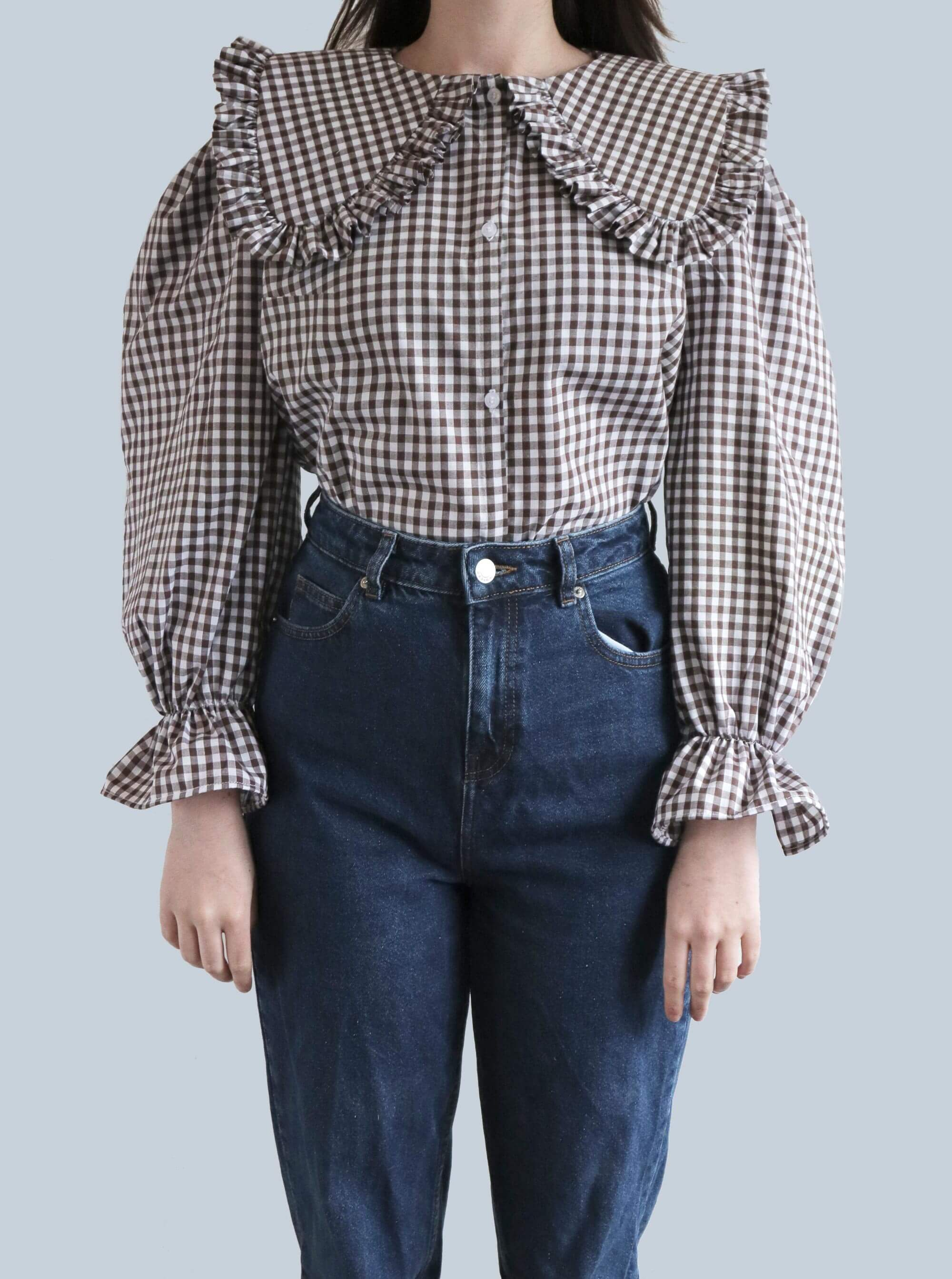 Gingham OZ Blouse