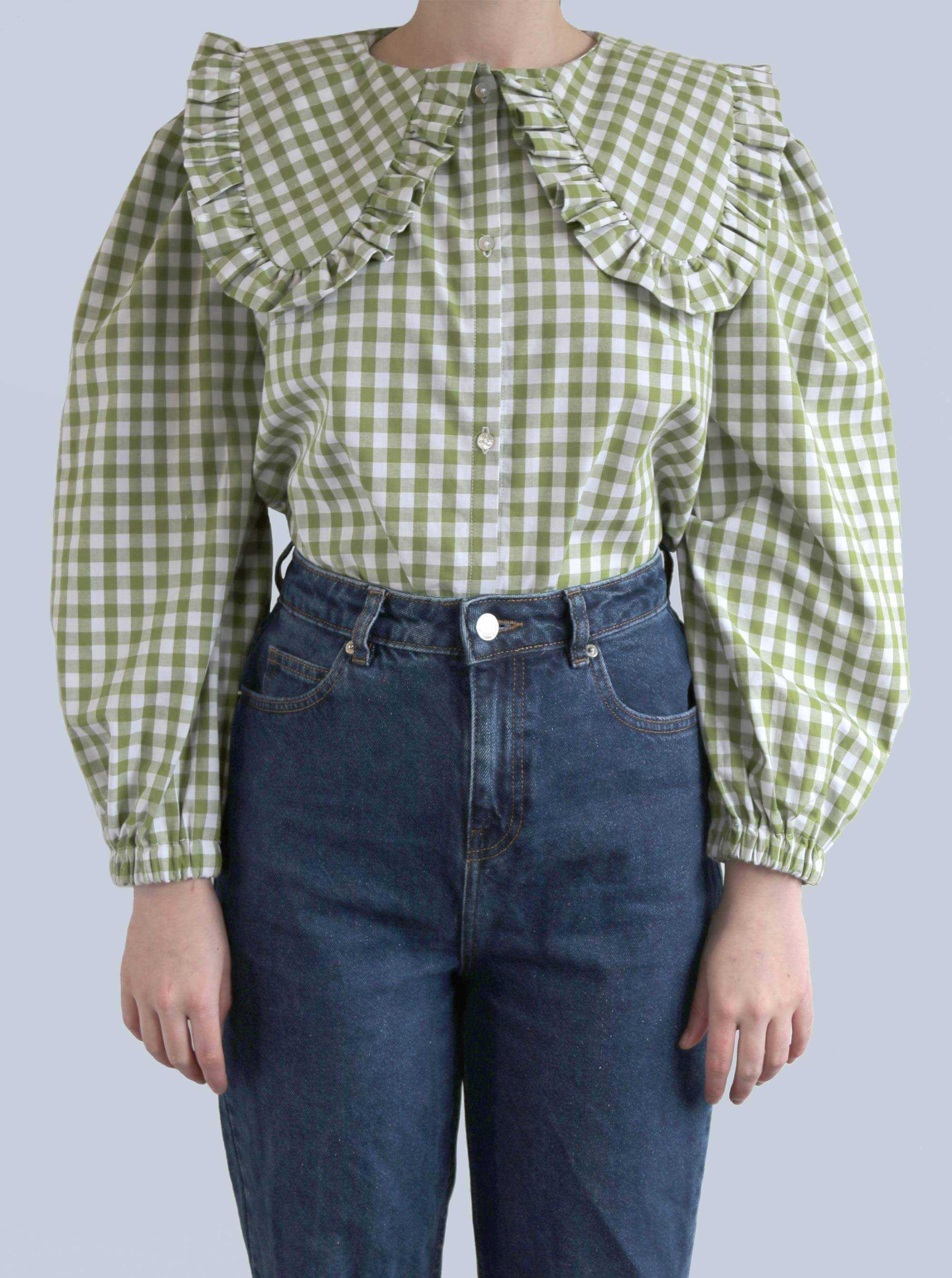 Gingham OZ Blouse II