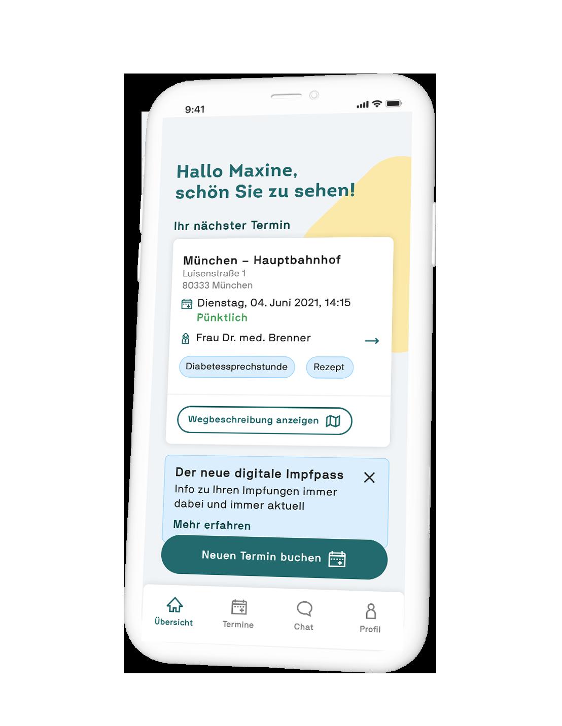 Gesundheits-App deiner Praxis