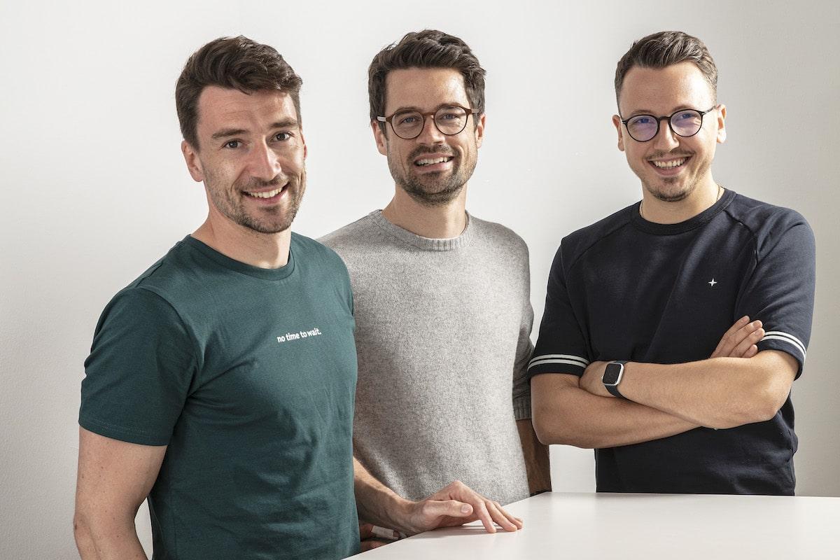 3 Unternehmer Gruppenfoto