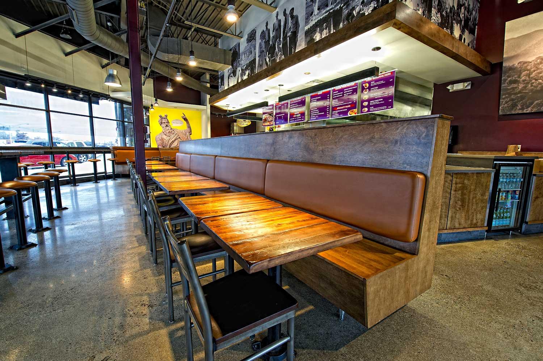Kalamata Greek Grill interior