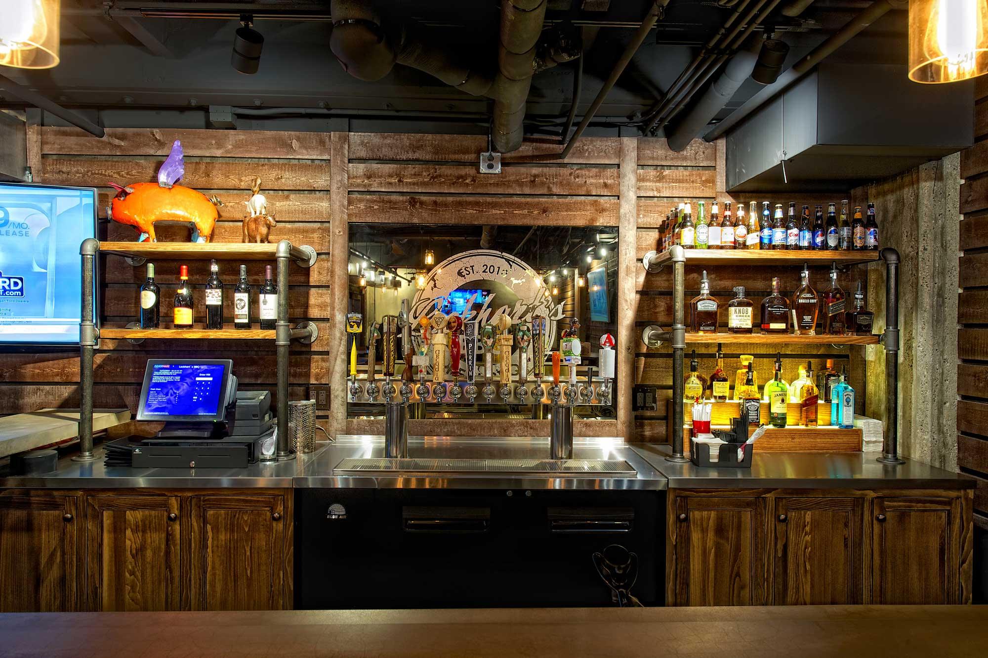 Lockhart's BBQ bar