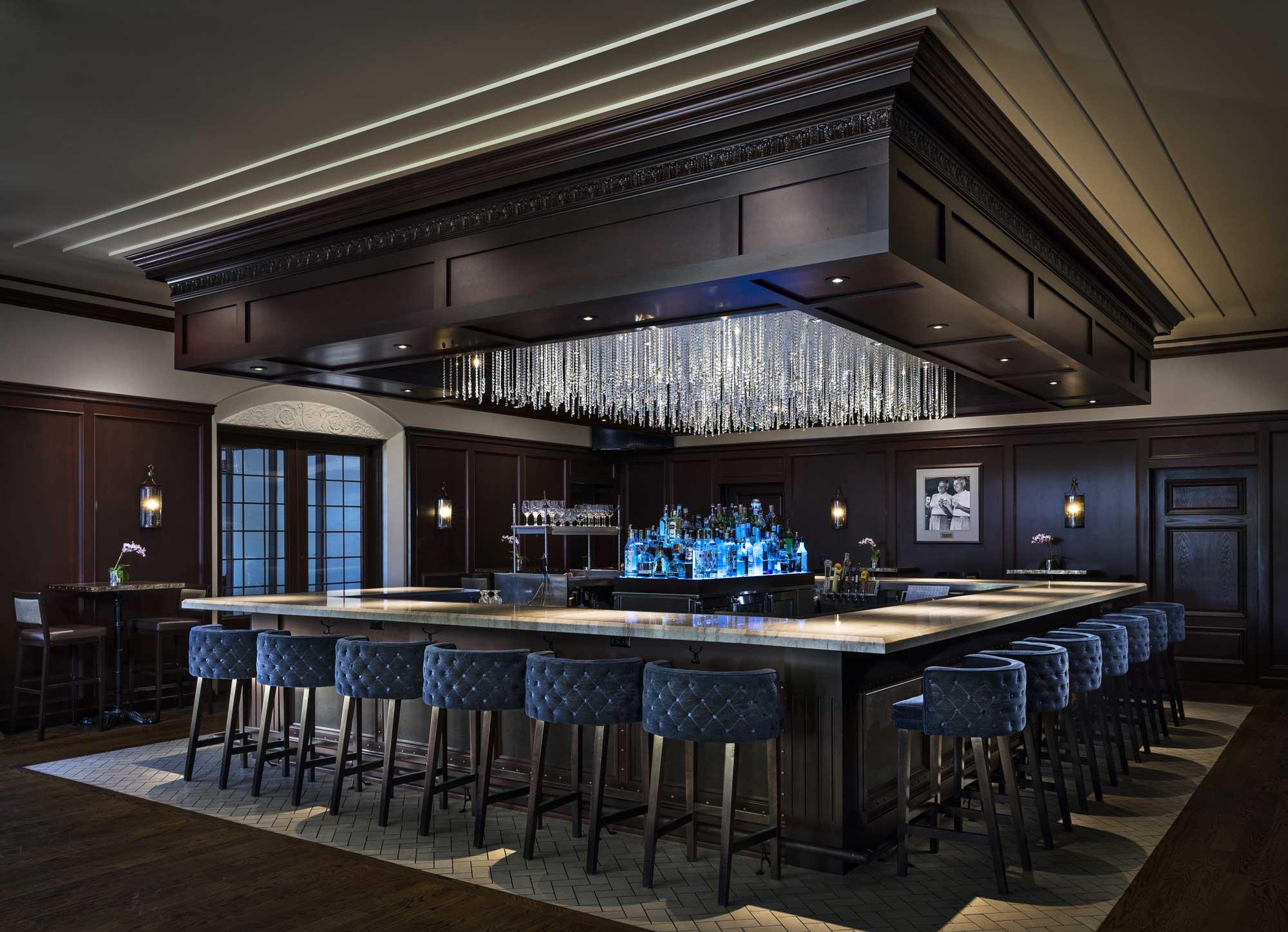 Birmingham Country Club bar