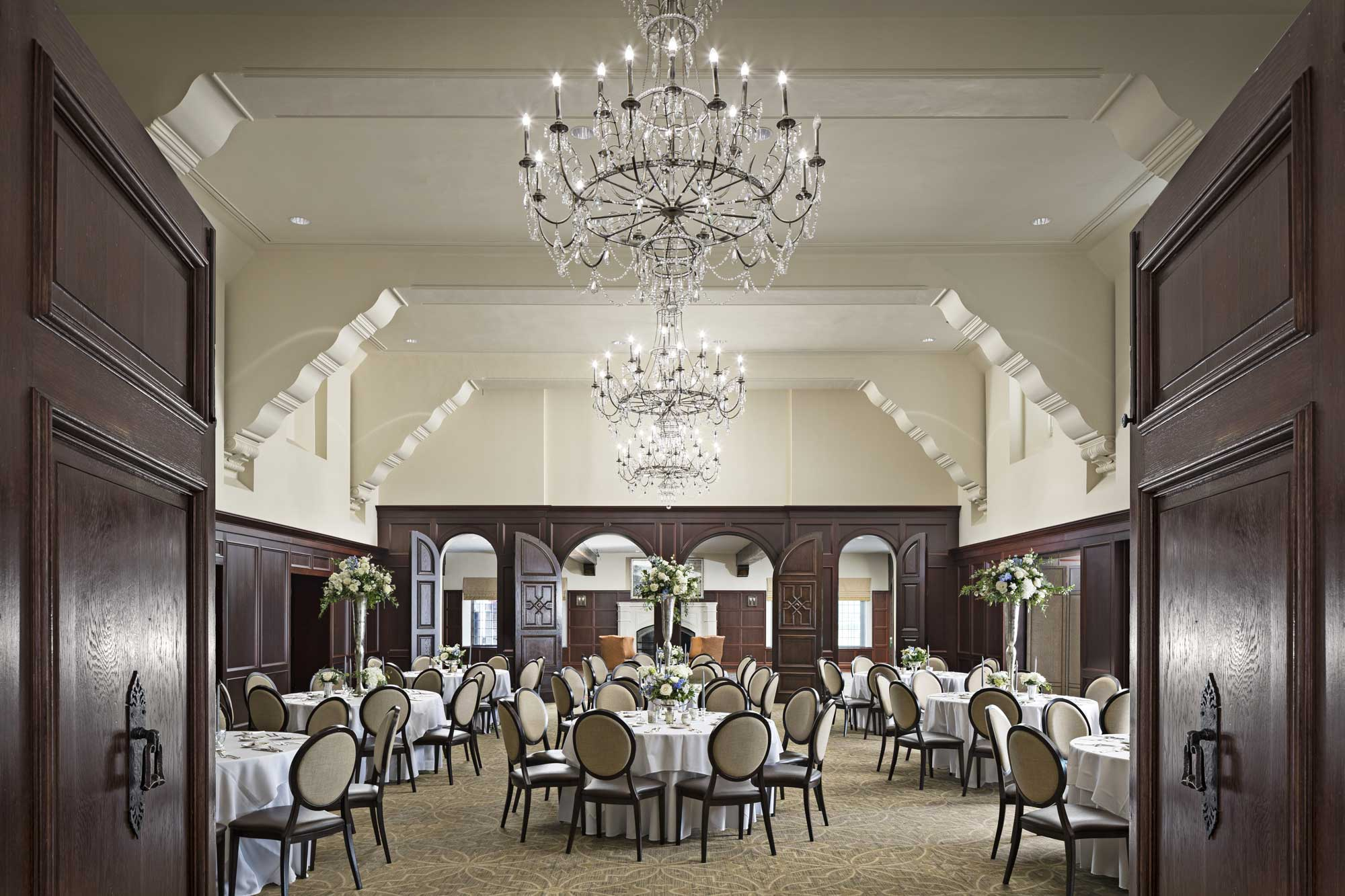 Birmingham Country Club event space hall