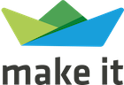 Logo von make it