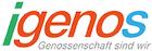 Logo von igenos e.V. Interessenvertretung der Genossenschaftsmitglieder