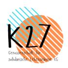Logo K27 Genossenschaft für solidarische Lebensräume eG