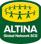 Logo ALTINA Global Network SCE - Europäische Einkaufsgenossenschaft für Klimaschutz zum Bestpreis