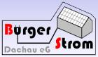 Logo Bürgerstrom Dachau eG