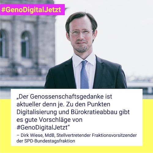 Dirk Wiese #GenoDigitalJetzt