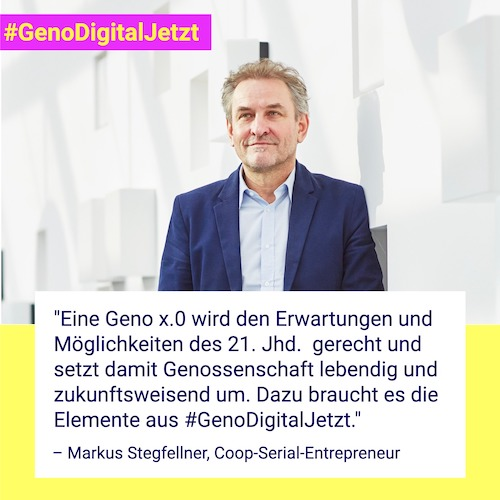 Markus Stegfellner #GenoDigitalJetzt
