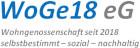 Logo WoGe18 eG - Wohngenossenschaft seit 2018