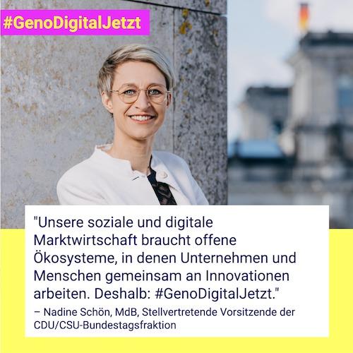 Nadine Schön #GenoDigitalJetzt