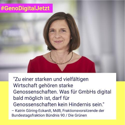 Katrin Göring-Eckardt #GenoDigitalJetzt