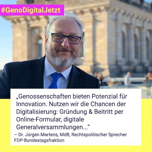 Dr. Jürgen Martens #GenoDigitalJetzt