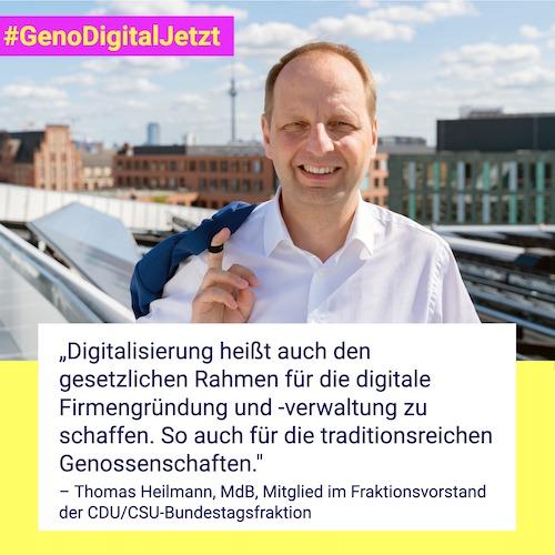 Thomas Heilmann #GenoDigitalJetzt
