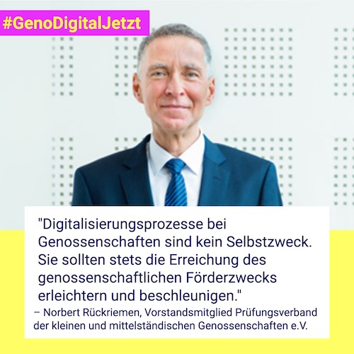 GenoDigitalJetzt Norbert Rückriemen