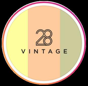 28 Vintage logo