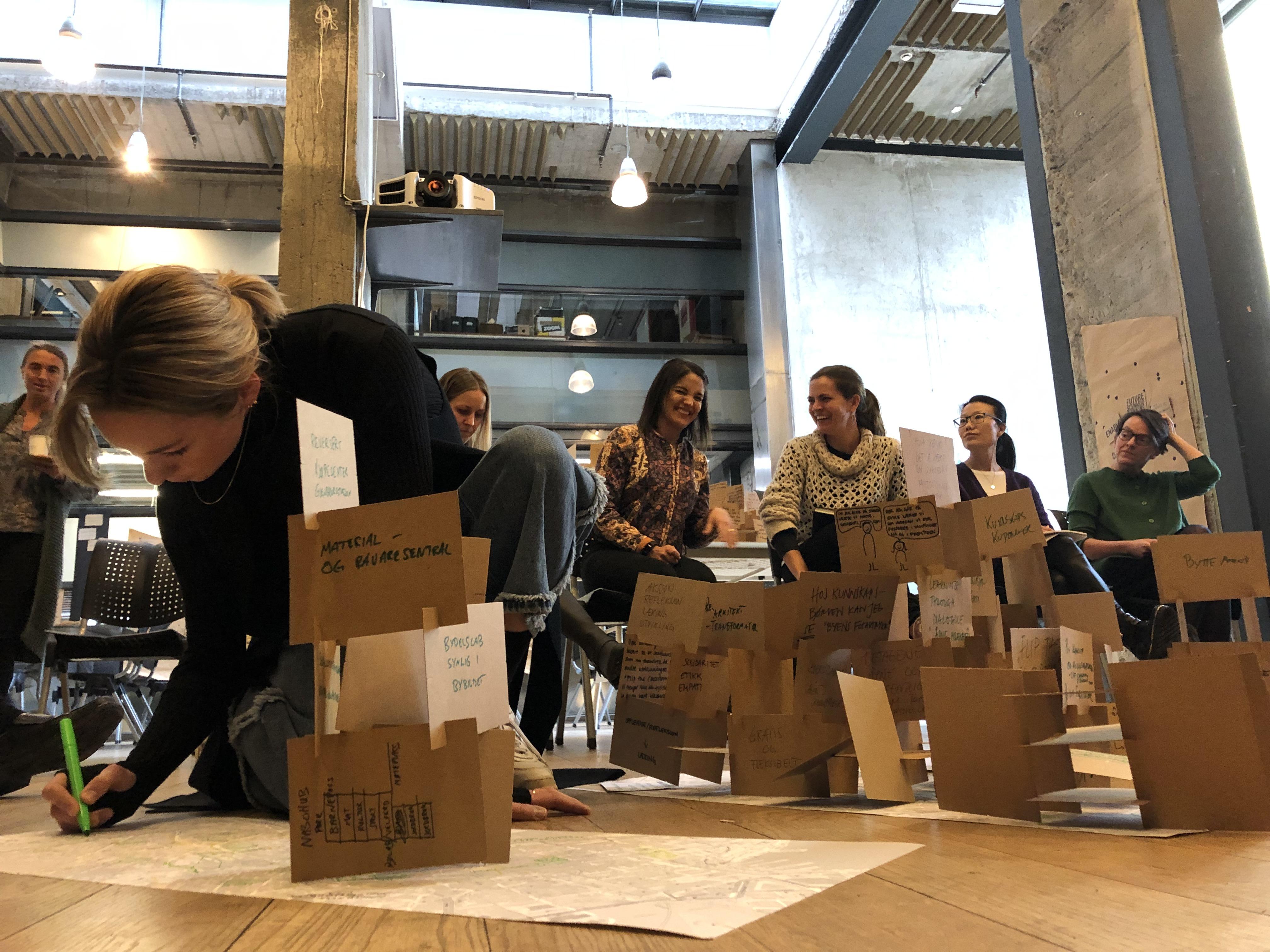 Fremtidsscenario workshop