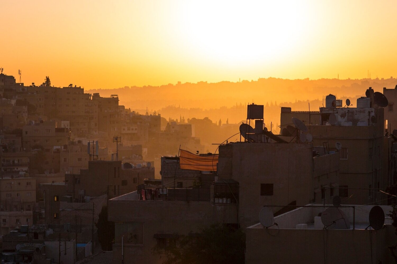 Jordan city skyline. Credit: Johnny Miller