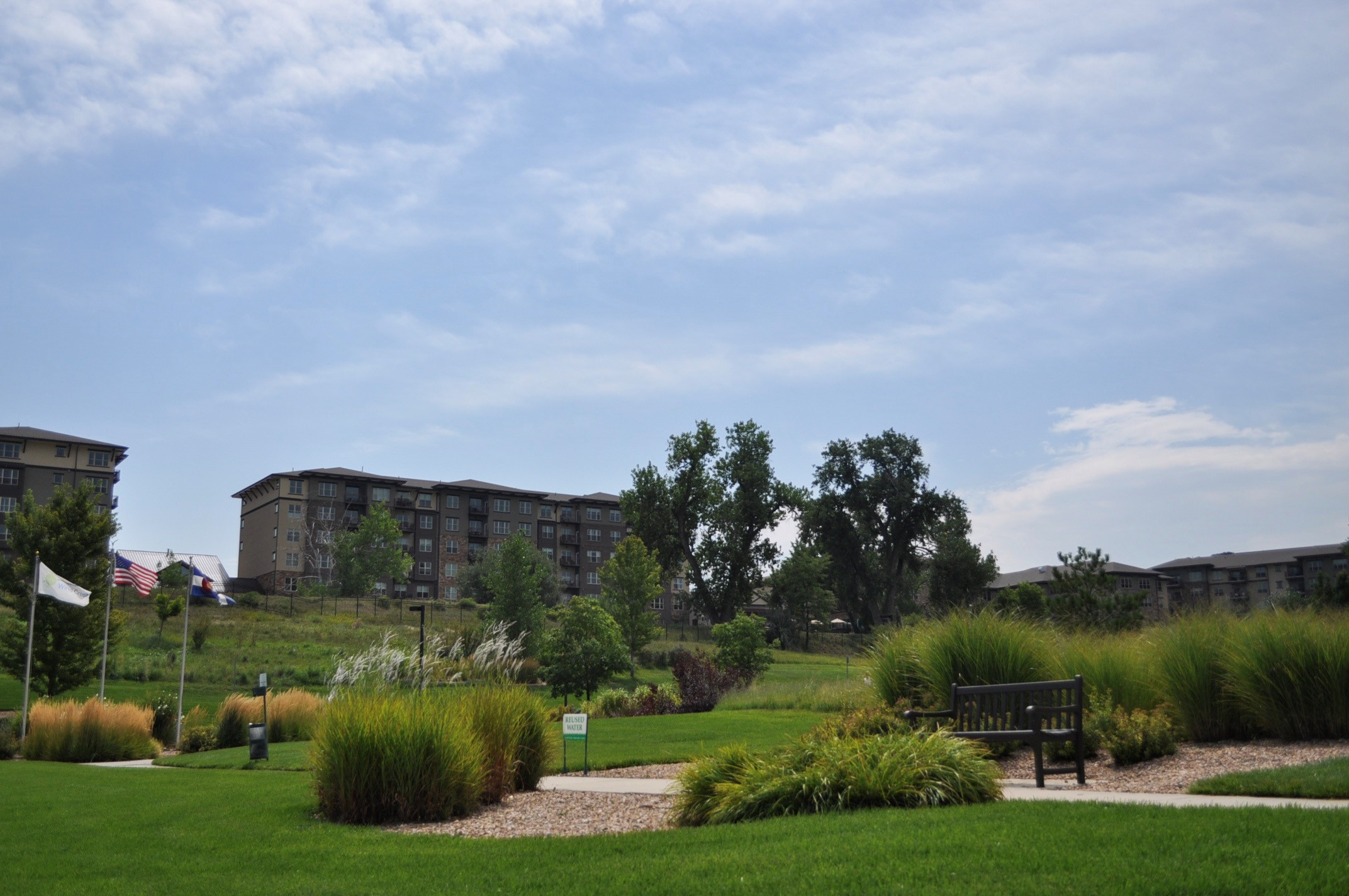 Landscape maintenance services for assisted living - long term care facilities