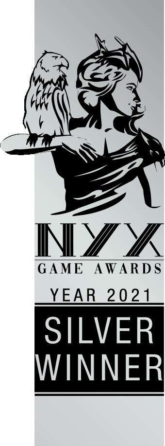 NYX Game Awards 2021 silver award given to NEO2045